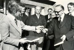 Schlüsselübergabe 1977
